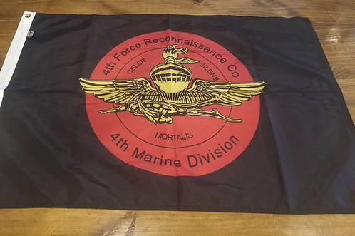 4TH FORCE 2 X 3 FLAG