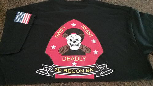 2ND RECON BN COTTON T-SHIRT