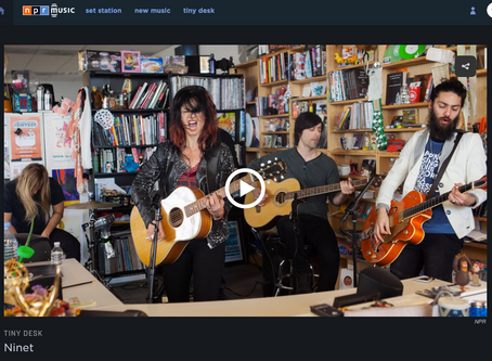 NPR: Ninet rocked the Tiny Desk in ways rarely seen.