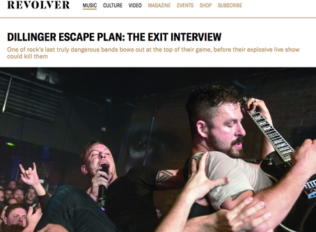 DILLINGER ESCAPE PLAN: THE EXIT INTERVIEW