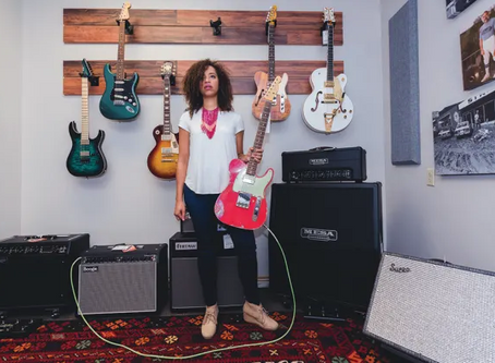 Jackie Venson on How She Created a Modern Style All Her Own: Guitar Player