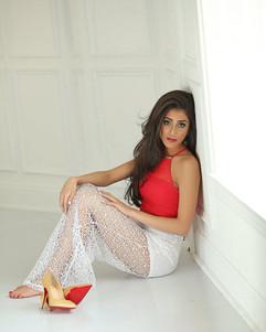red and gold farrah elegant princess