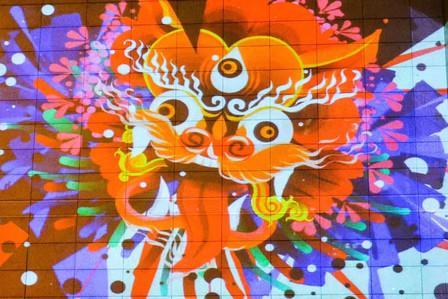Rimiyoho in Tianjin, China. Light Painting using Tagtool