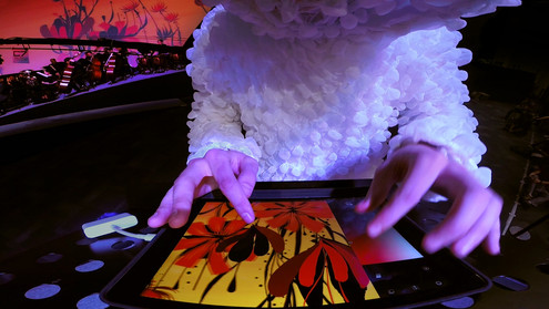 Rimiyoho @ Campus Party Light Painting using Tagtool