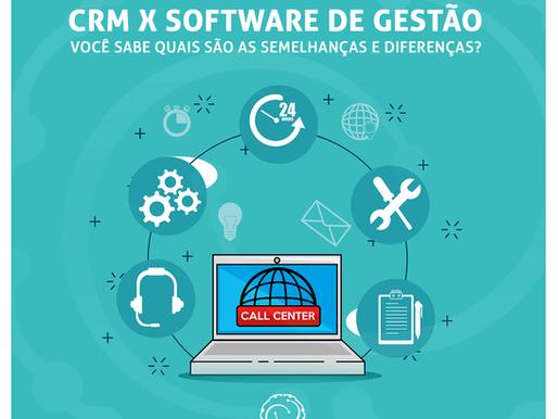 As diferenças e semelhanças entre CRM e Software de Gestão
