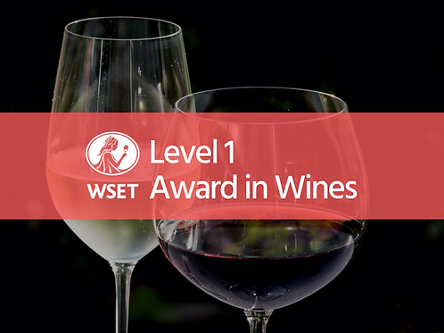 WSET Level 1 Award in Wines (Online Course)