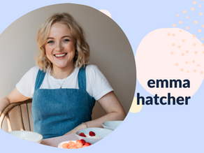 She can't eat what?! How Emma made good food  work in her favour