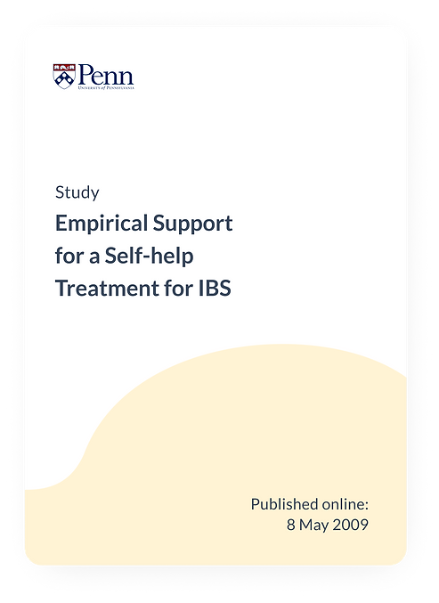 Empirical Support for a Self-help Treatment for IBS