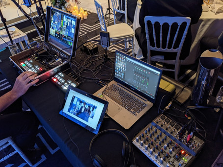 Is livestreaming just like a wedding video?