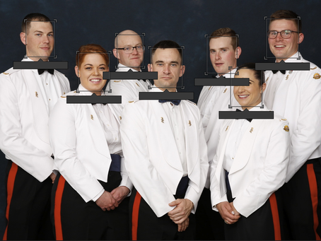 RealTime photography delivers for military graduation