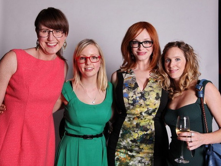 Catch up with Christina Hendricks for Specsavers