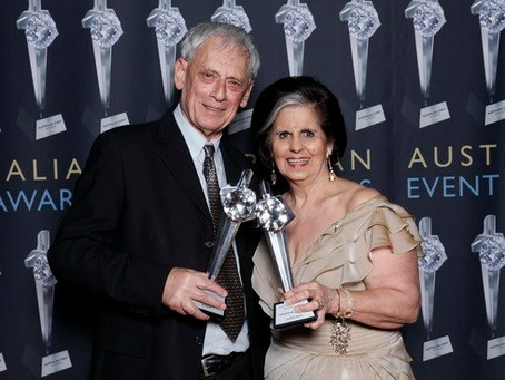 Congratulations to industry legends presented at Australian Event Awards