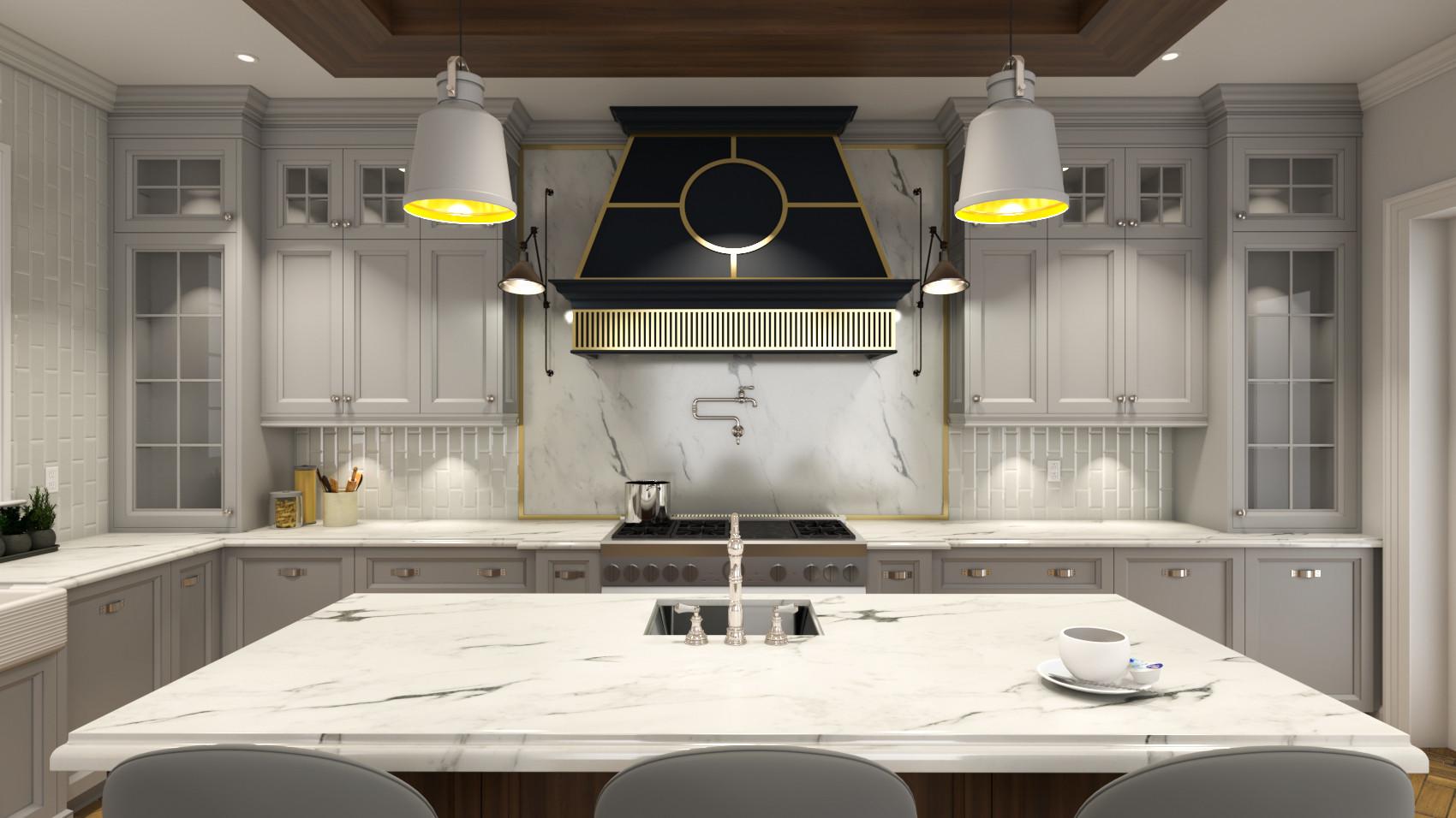 tradional kitchen