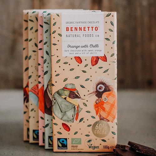 Bennetto Dark Organic Chocolate