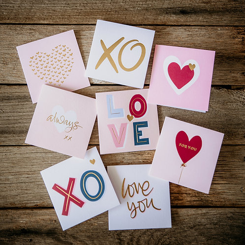 Love You Cards - Small