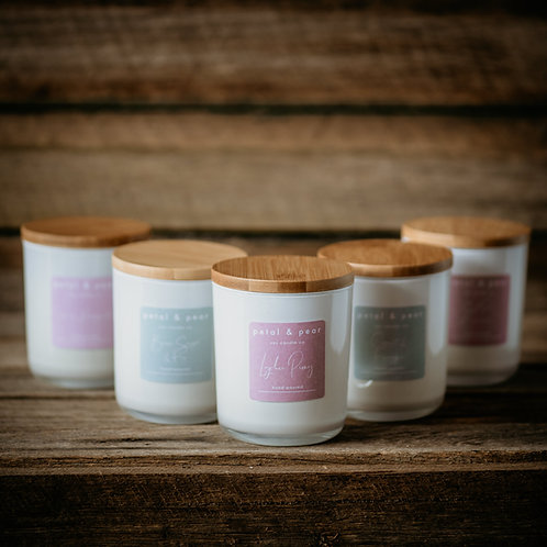 Petal and Pear Candles