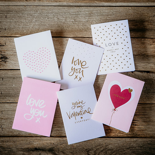 I Love You Cards