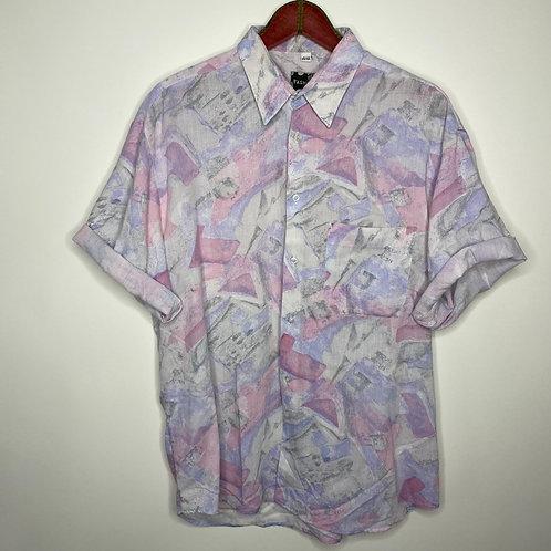 Vintage Hemd Pastell Unisex 80's 90's (XL-XXL)