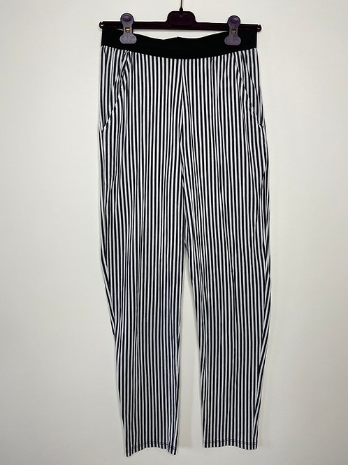 Vintage Highwaist Stoffhose Streifen 80's 90's (S-M)