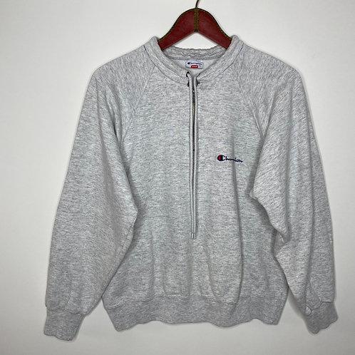 Vintage Sweater Champion Grau 80's 90's (M)
