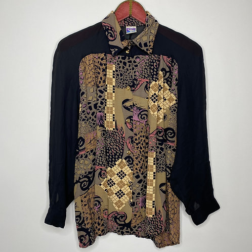 Vintage Bluse Yessica 80's 90's (L)