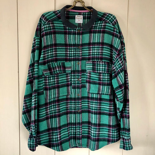 Vintage Wool Shirt Free Company Unisex 80's 90's (L-XL)