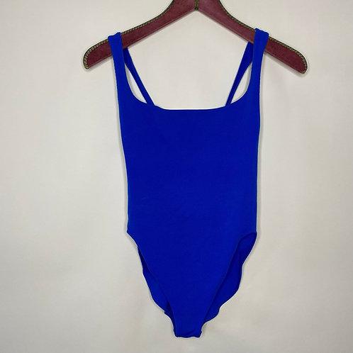 Vintage Badeanzug Blau 80's 90's (S)