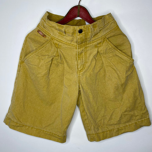 Vintage Highwaist Jeans Shorts Senfgelb 80's 90's (M)