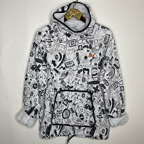 Vintage Sweater Adidas Printed Unisex 2000s (M-L)