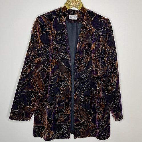 Vintage Samt Blazer Godske 80's 90's (L)