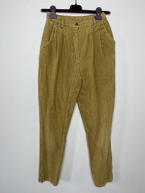 Vintage Highwaist Cord Hose 80's 90's (XS)