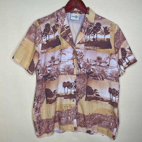 Vintage Bluse Savanne Fashion Connection 80's 90's (M)