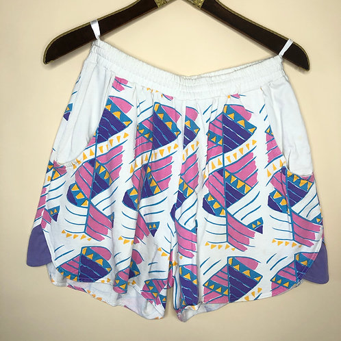 Vintage Shorts Baumwolle 80's 90's (S-M)