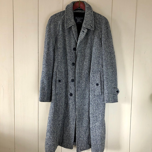 Vintage Irish Tweed Mantel Wolle Burberrys 80's 90's (M-L)