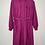 Thumbnail: Vintage Kleid Langarm Delmod Pink 80's 90's (L)