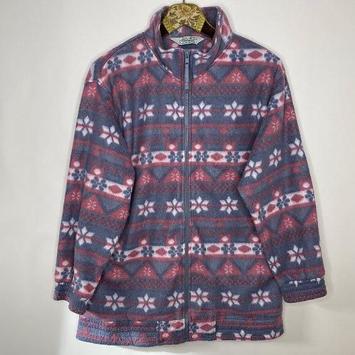 Vintage Fleece Jacke Winter 80's 90's (L)