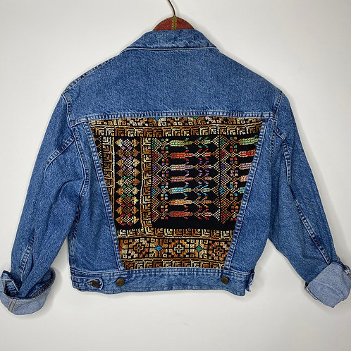 *Upcycling Edition* Vintage Jeans Jacke Closed 80's 90's (S)