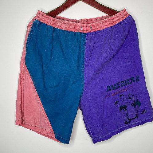 *Appreciate Me* Vintage Shorts Unisex 80's 90's (XL-XXL)