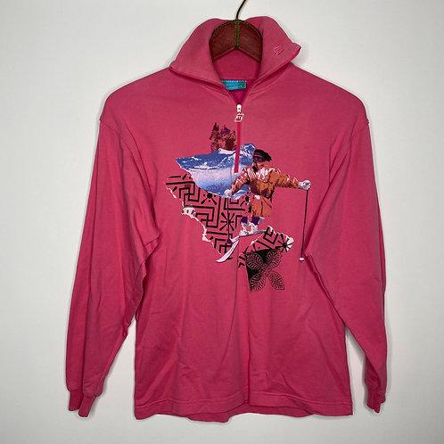 Vintage Pullover Pink 80's 90's (M)