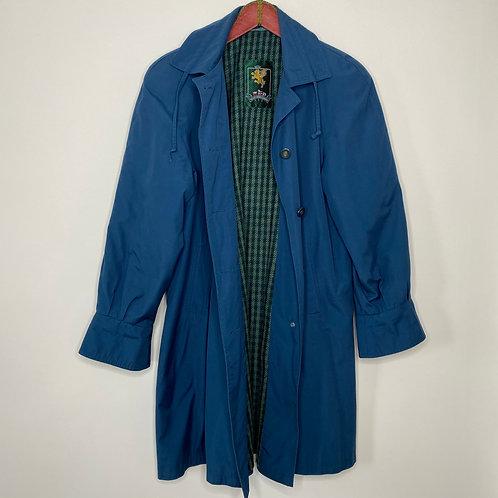 Vintage Mantel Blau 80's 90's (L)