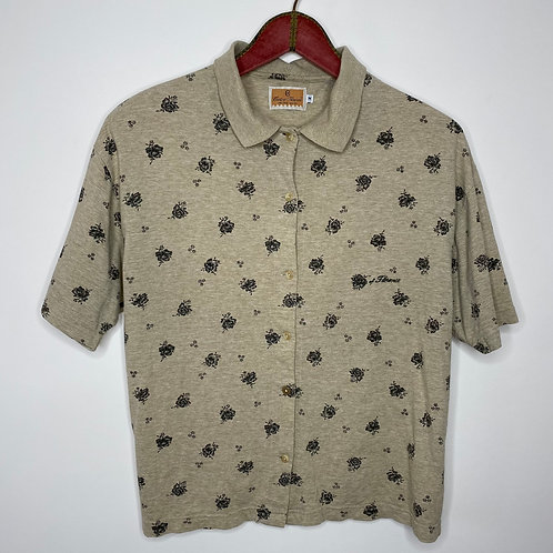 Vintage Poloshirt Bluse 80's 90's (M)