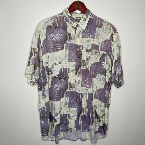 Vintage Hemd Designer's Club Unisex 80's 90's (XL-XXL)