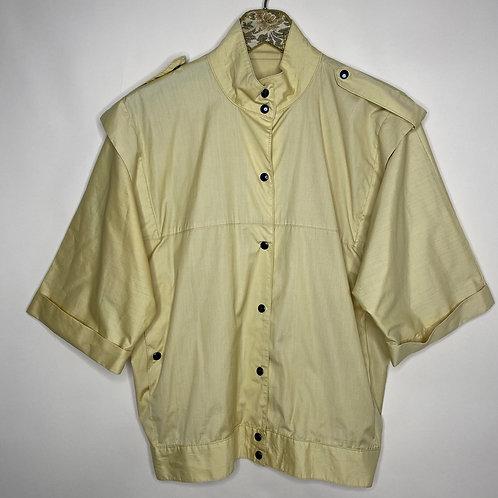 Vintage Jacke Gelb Unisex 80's 90's (XL)