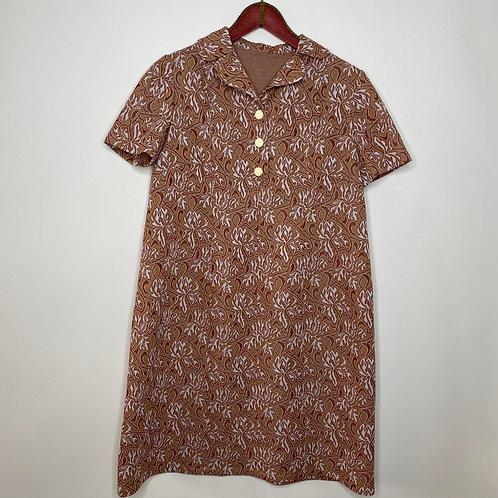 Vintage Kleid Bubikragen 70's (M-L)