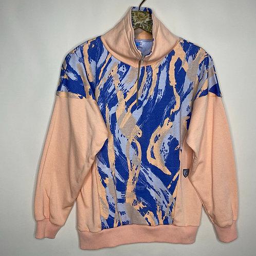 Vintage Sweater Baumwolle sportlich 80's 90's (S)