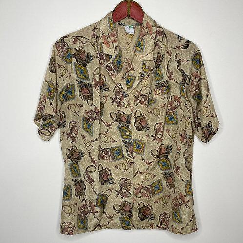 Vintage Bluse Cassic Fashion 80's 90's (L)