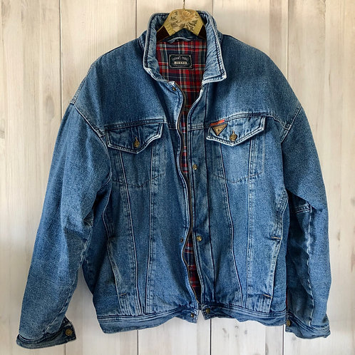 Vintage Jeans Jacket Winter 80's 90's (L-XL)