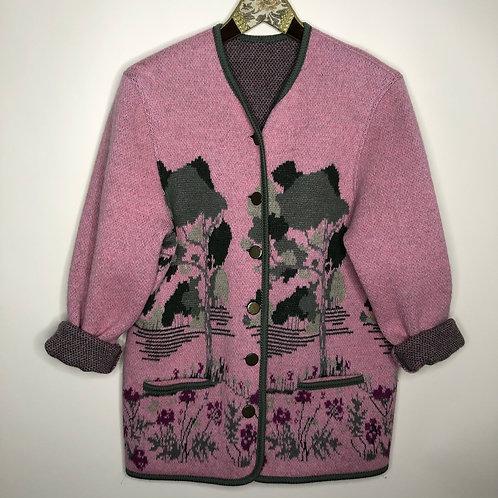 Vintage Cardigan Winter 80's 90's (L)