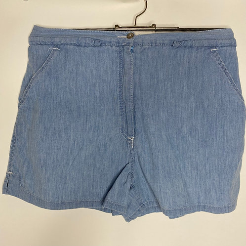 Vintage Denim Shorts 80's 90's (M)