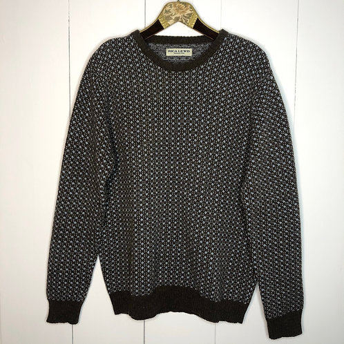 Vintage Woll Pullover Unisex 80's 90's (M-L)